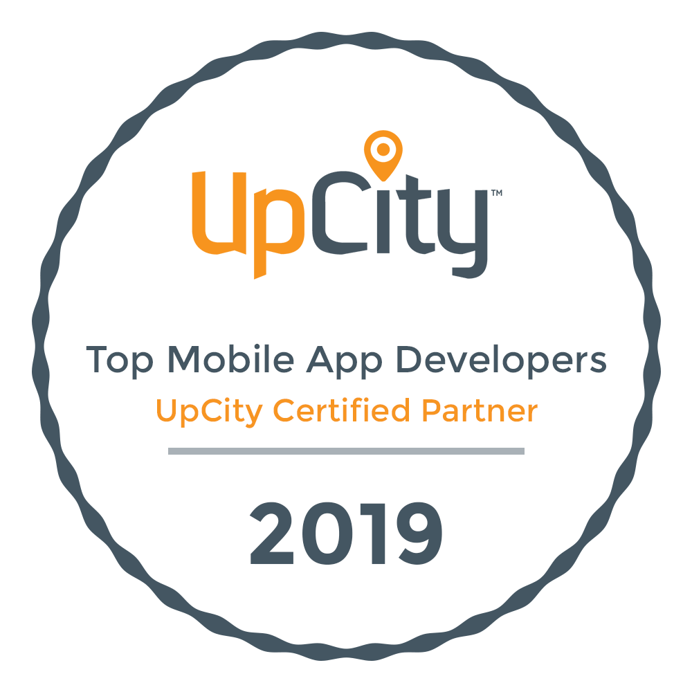 UpCity 2019 Top Mobile App Developers Award