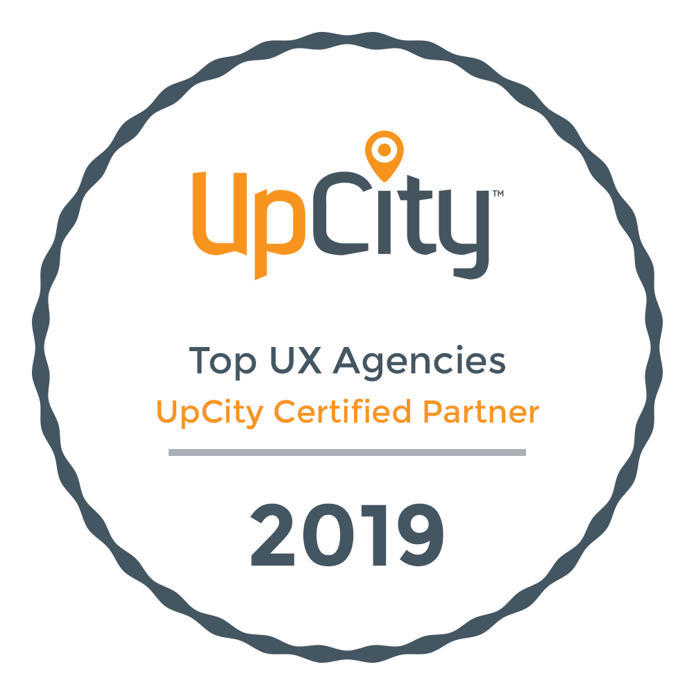 UpCity 2019 Top UX Agencies Award